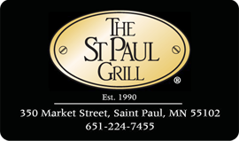 Gift Card The St  Paul Grill