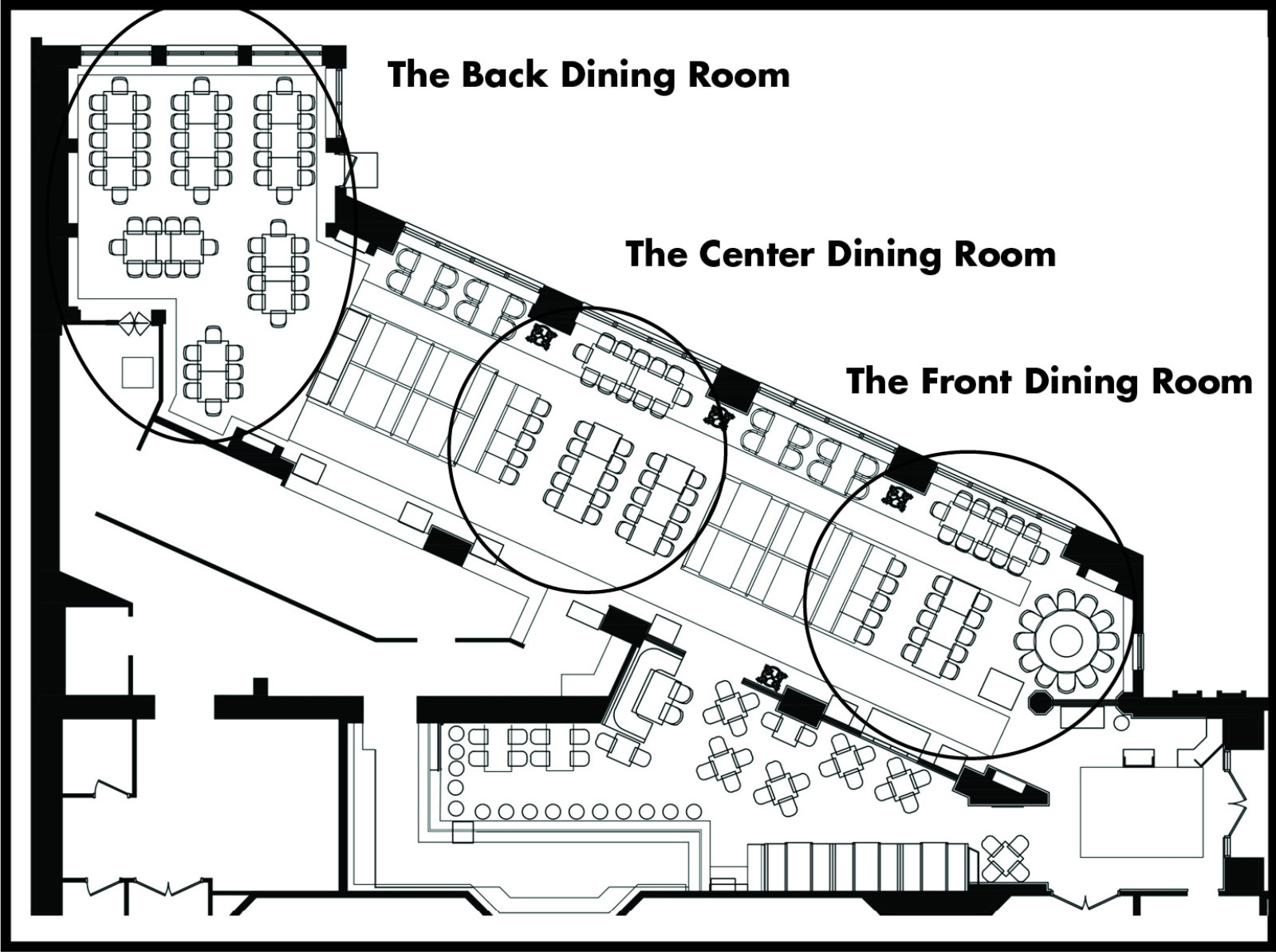 Dining Room Diagram